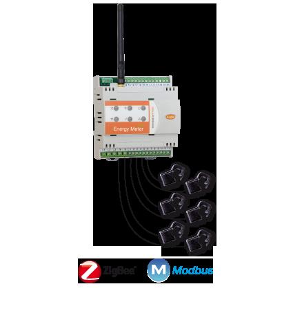 Energy Meter Three Phase Wireless Sensors